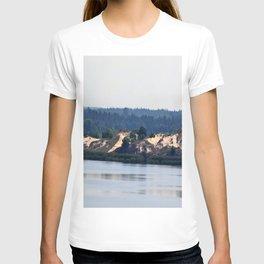 Landscape on the river # 2 T-shirt