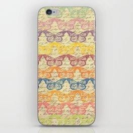 Butterflys in Color iPhone Skin