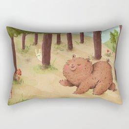 Fat Little Bear Rectangular Pillow