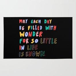 Filled with Wonder Rug