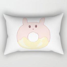 Kawaii Bunny Donut Rectangular Pillow