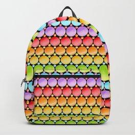 Rainbow Dotty Stripes Backpack