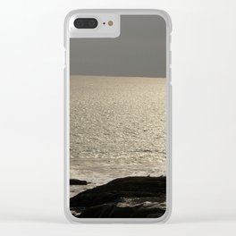 Calm Shores Clear iPhone Case