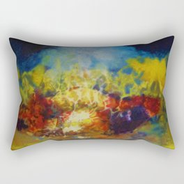 African American Masterpiece Hymns to the Sun IV by Aubrey H. Williams Rectangular Pillow