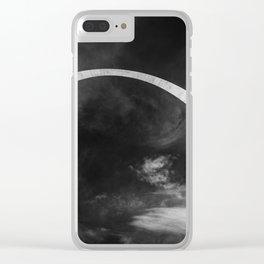 cosmic rebirth Clear iPhone Case