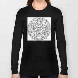 Pencil Wars Shield Long Sleeve T-shirt