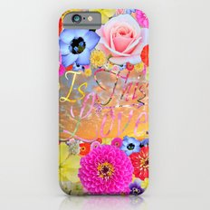 Is This Love iPhone 6s Slim Case