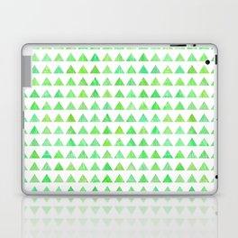 evergreen geometric pattern Laptop & iPad Skin
