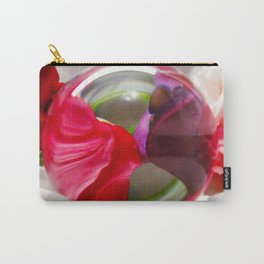 Red and Purple Art Photography Unique Picture Visual Effect Carry-All Pouch
