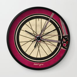 Single Speed Bicycle Wall Clock