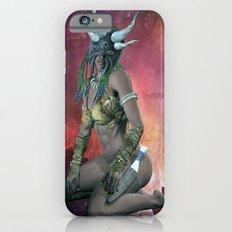 Tribal  mask girl Slim Case iPhone 6s