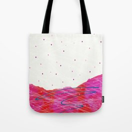 First Snows on Rodborough Hill Tote Bag