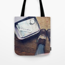 Let's Explore! Tote Bag