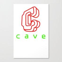 Cave Co. Canvas Print