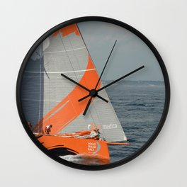 To Sea! (Team Alvimedica) Wall Clock