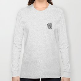 This goodbye is not forever Sympathy  - Zentangle Illustration Long Sleeve T-shirt