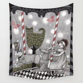 A is for Alice Wall Tapestry