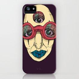 SEEK DEEP WITHIN iPhone Case