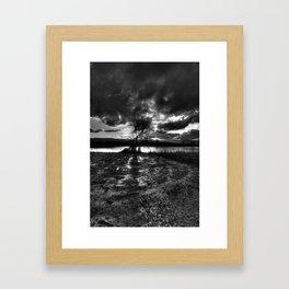 Dark Light Framed Art Print