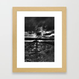 Dark Light Framed Art Print