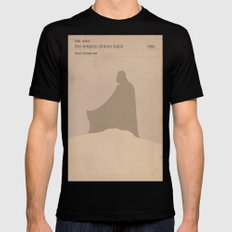 The Empire Strikes Back (Old) MEDIUM Black Mens Fitted Tee