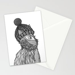 Mr. Henry in a Beanie Stationery Cards