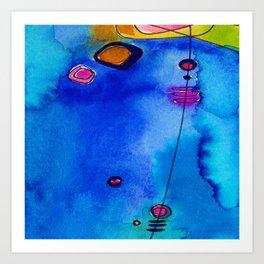 Magical Thinking No. 2C by Kathy Morton Stanion Art Print