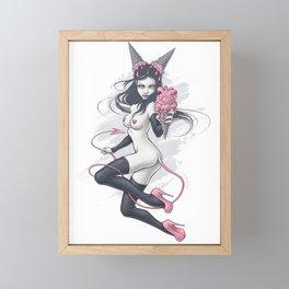 Ice Cream Devil Framed Mini Art Print