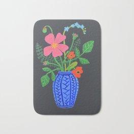 Blue Vase Bath Mat