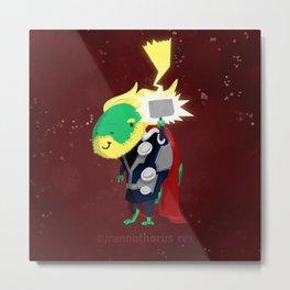 Tyrannothorus Rex - Tyrant King of Thunder Metal Print