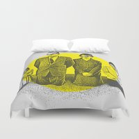 religion Duvet Covers featuring Abusing My Religion by S. Bradley Askew
