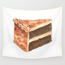 Chocolate Cake Slice Wall Tapestry