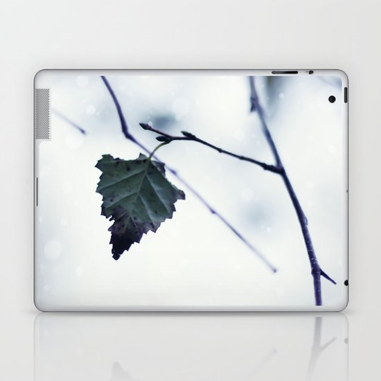 The last leaf Laptop & iPad Skin