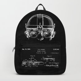 Welding Goggles Blueprint Backpack