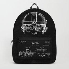 Welding Goggles Blueprint Backpack