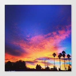 California Sunrising Canvas Print