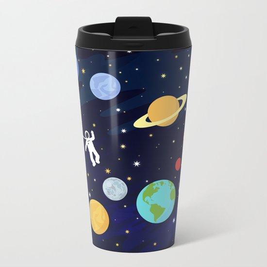 In space Metal Travel Mug