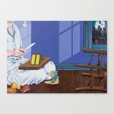 domestic scene Canvas Print