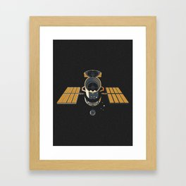 Hubble Framed Art Print