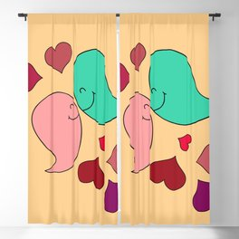 Ghost love, extraordinary feelings Blackout Curtain