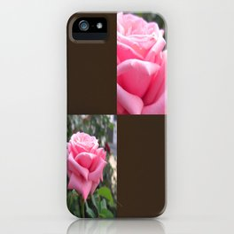 Pink Roses in Anzures 6 Blank Q3F0 iPhone Case