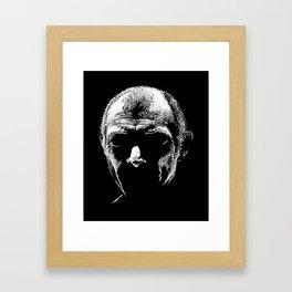 Lee Van Cleef illustration by Woody Compton Framed Art Print