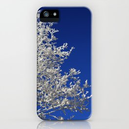 Frosty iPhone Case