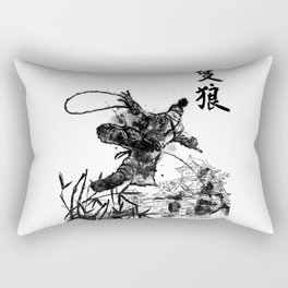 Young Wolf Rectangular Pillow