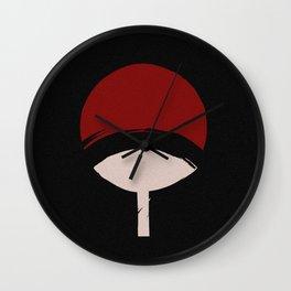 Uchiha Clan Wall Clock