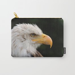 MM - Grinning bald eagle Carry-All Pouch