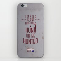 house of cards iPhone & iPod Skins featuring House of Cards by Molnár Roland