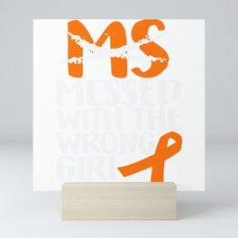 MS Multiple Sclerosis Messed With Mini Art Print