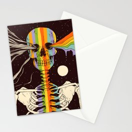 Dark Side of Existence Stationery Cards