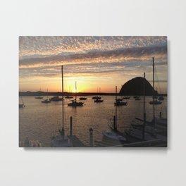 Rock Sunset Metal Print